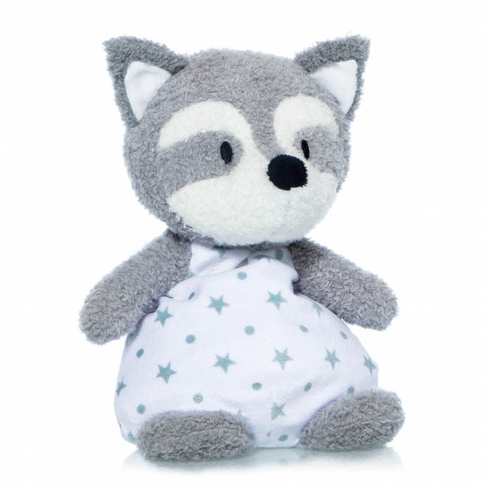 THERAPEUTIC TOY RACCOON 24 CM